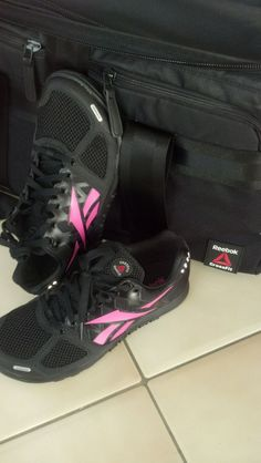 @Reebok USA crossfit shoes and bag! love it. #rbkfitblog #fitfluential