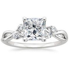 The Willow Diamond Ring #BrilliantEarth