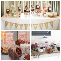 Candy bar / Candy buffet