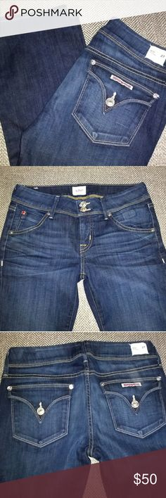 Hudson Jeans Beth Baby Bootcut Stretch size 27 Size 27, 92% cotton, 6% polyester, 2% elastan. These arr brand new and have never been worn. Hudson Jeans Jeans Boot Cut