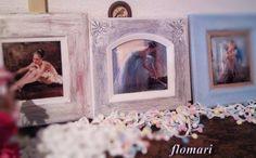 """Ballerinas"" ,Handmade paint/decor by Cadouri handmade flomari  https://www.facebook.com/Cadouri-handmade-flomari-469386039793847/"