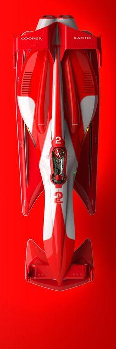 Tommy Thorn Racer by Row Zero - Simon Williamson, via Behance