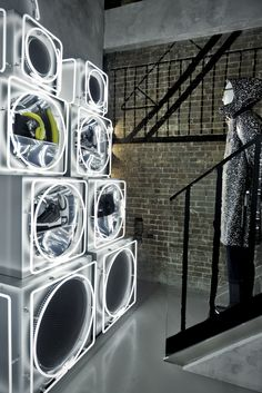 Come see the downtown cool new Fendi Soho pop-up store in New York, USA.