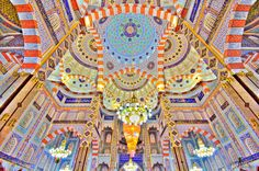 Mosques throughout the Muslim world have some of the most intricate and exquisite architecture ever created by mankind. There's too much amazing architecture in them to cover in just one post, so we decided to focus simply on the mosque's ceilings – something the faithful might see when they look up to the heavens. These …
