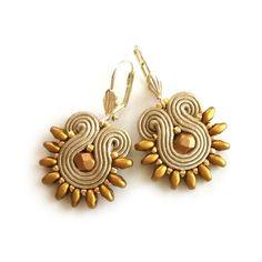 Soutache earrings – Statement dangle earrings | SABO Design