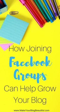 Ready for more blog traffic and an easy way to grow your blog?  You need to be joining Facebook groups!  Check out this fun way of networking with like-minded bloggers, and increase your traffic and blog subscribers in the process.