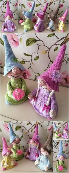 Mesmerizing Crochet an Amigurumi Rabbit Ideas. Lovely Crochet an Amigurumi Rabbit Ideas. Baby Knitting Patterns, Crochet Patterns Amigurumi, Crochet Dolls, Baby Patterns, Knitting Ideas, Kids Knitting, Easy Knitting, Amigurumi Doll, Crochet Gratis