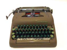 1950s Vintage Smith-Corona Silent Manual Typewriter