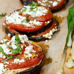 Yummy! No carbs... eggplant awesome!!