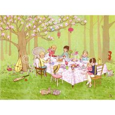 Ava's Tea Party