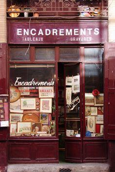 Old Shop Front, Toulouse, France. Boutiques, Shop Facade, Restaurants, Cafe Shop, Store Windows, Shop Fronts, Shop Around, Shop Front Design, Cafe Interior