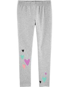 Stretchy and totally adorable, these leggings are an everyday fave! Girls Leggings, Girls Pants, Leggings Are Not Pants, Boy Shoes, Girls Shoes, Toddler Boys, Kids Girls, Carter Kids, Floral Leggings