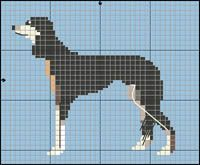Hundraser i korsstygn Knitted Animals, Beaded Animals, Embroidery Patterns, Cross Stitch Patterns, Crochet Dog Clothes, Puppy Day, Dog Crafts, Bargello, Plastic Canvas Patterns