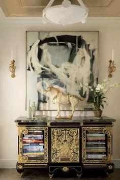 Entrance Hall Design | AD DesignFile - Home Decorating Photos | Architectural Digest