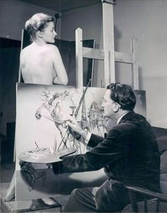 Dalì by Man Ray pic.twitter.com/ld7HguXHma Salvador Dali Gemälde, Salvador Dali Paintings, Temptation Of St Anthony, Jean Arp, Alberto Giacometti, Rene Magritte, Artists And Models, Portraits, Foto Art
