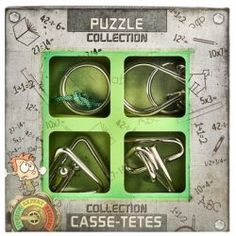Junior Metal Puzzles Collection - Toys and Games Ireland Metal Puzzles, Fidget Toys, Brain Teasers, Glee, Cool Toys, Kids Toys, Ireland, Retro, Coffee Shop
