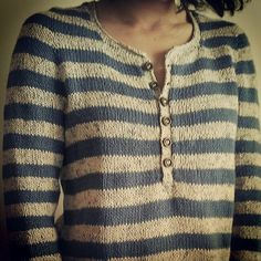 -blue n white Knitting Yarn, Hand Knitting, Hand Knitted Sweaters, Knitwear, Knitting Patterns, Knit Crochet, Sweaters For Women, Couture, Outfit