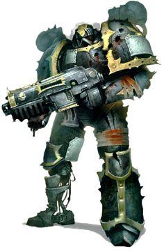 Black Legion - Warhammer Wiki - Space Marines, Chaos, planets, and more - Wikia Warhammer 40k Art, Warhammer Models, Warhammer 40k Miniatures, Warhammer Fantasy, Warhammer Games, Salamanders 40k, Chaos Legion, Chaos Daemons, Sons Of Horus