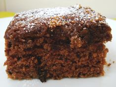 Brownie com courgete