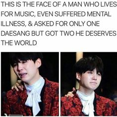 Yoongi crying literally breaks my heart. He deserves the word.