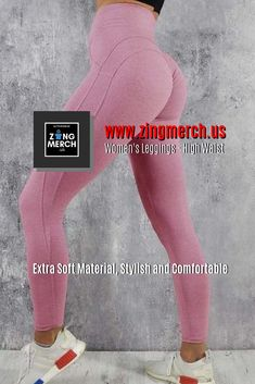 Women's Leggings – High Waist Maternity Leggings Outfit, Yoga Pants Outfit, Workout Leggings, Women's Leggings, Leggings Are Not Pants, Tights, Gym Outfits, Fitness Outfits, Fitness Clothing