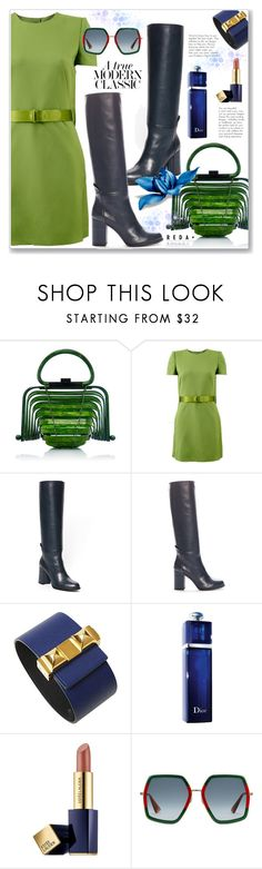 """""""Formal Modern Classic"""" by jecakns ❤ liked on Polyvore featuring Alexander McQueen, Hermès, Christian Dior, Estée Lauder, Gucci, Jil Sander and modern"""