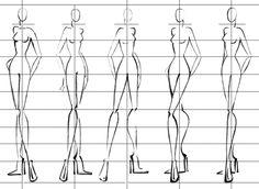 Силуэты для дизайна одежды