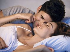 Face: Have you noticed in movies how a guy gets all crazy when a girl lightly strokes his face with her fingers? Yes, that! Men get turned on by the slightest touch on their face. So next time you're kissing, sharing a joke or having sex, don't ignore his face. More On >> Relationships