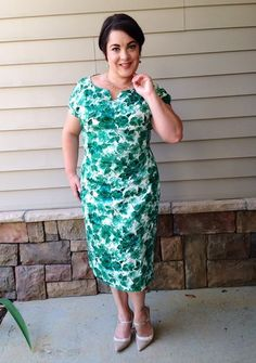 "Flippa looks stunning in the Martini Dress! She said ""THANK YOU SO MUCH, Trashy Diva, for the absolutely stunning Martini dress in Jade Watercolor that I'm wearing to my husbands graduation ceremony this evening!! I can't believe you got it to me so quickly!"" #trashydivamartinidress #trashydivajadewatercolor"