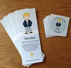 Your place to buy and sell all things handmade First Communion Favors, Baptism Favors, Personalized Bookmarks, Printables, Messages, Boys, Handmade, Party Ideas, First Holy Communion