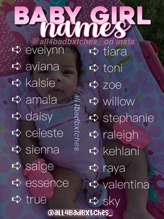 Baby Girl Names Unique, Cute Baby Names, Kid Names, Cute Little Baby, Name Inspiration, Pretty Names, Baby Name List, Future Mom, Cool Baby Stuff