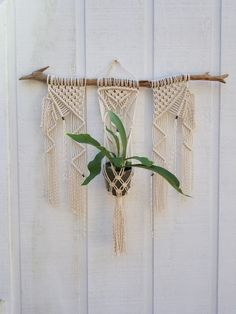 Commodities Are Available Without Restriction Capable Hanging Shelf Indoor Plant Hanger Planter Rack Flower Pot Holder Boho Home Decor Cotton Rope with Wood Plate