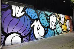 El arte de Insa en las calles el D.F.