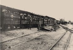 Cattle Cars were the transportation to the Concentration Camps. Many were told they were being taken to labor camps, in reality they were being taken to Concentration Camps. All the cars were overpopulated without basic provisions. Without their necessary provisions, many died before reaching their destination (concentration camps.)