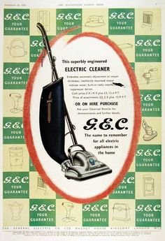 1950s Advertising, Vintage Appliances, General Electric, Old Ads, Engineering, Google, Image, Technology, Old Advertisements