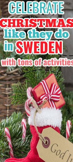 Swedish activities for the entire family that will bring the fun of a Christmas in Sweden to your own home! Make handicrafts, Swedish recipes and learn about celebrations in Sweden. #Christmasinsweden Christmas Activities, Christmas Ideas, Christmas Wreaths, Christmas Ornaments, Christmas Destinations, Sweden Travel, Swedish Recipes, Christmas Travel, Own Home