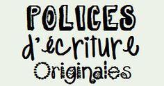 10 polices d'écriture originales à télécharger