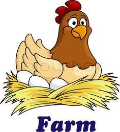 Chicken Clip Art, Cartoon Chicken, Bird Drawings, Cartoon Drawings, Cool Drawings, Make A Cartoon, Cute Cartoon, Chicken Coop Signs, Chicken Quilt