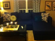 Twin mattress sectional. Two twin  size foam cushions makes this sectional. This is a sectional I built and upholstered. Storage under cushions. I used my own plans. Very comfortable and roomy 10ft wide. I was inspired by some other sectional I found on Pinterest. They were very expensive. I spent about $400.