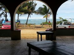 Pinones- Puerto Rico. We ate here!
