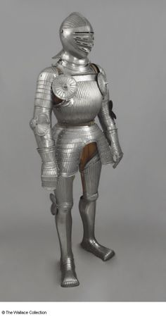 Full armour Unknown Artist / Maker Germany c. 1515 - 1525 Steel Weight: 18.99 kg, total weight A24 European Armoury II
