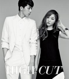 Akdong Musician, Nam Joo Hyuk and Lee Ha Eun - High Cut Magazine Vol.128