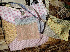 Hippie Boho Tote Shopping Bag diaper bag or Purse by BSoriginals, $32.50