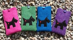 Harris Tweed doesn't just come in the shades of the Hebridean landscape! These iPhone cases from LoobieandBoo on Etsy are an explosion of colour