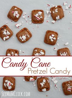 This recipe for Candy Cane Pretzel Candy is so easy to make and really delicious. The perfect sweet treat or gift to have during the holiday season.