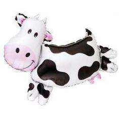 Cow Shaped Jumbo Foil Balloon