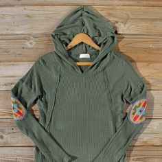 Denver Patch Thermal in Olive: Alternate View #2