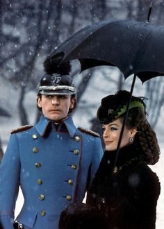 Helmut Berger as King Ludwig II of Bavaria & Romy Schneider as Empress Elisabeth of Austria in Ludwig. Visconti (1972)