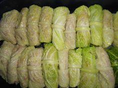 Tajemství kočičího košíku: Cigánské holubce Asparagus, Food And Drink, Vegetables, Studs, Vegetable Recipes, Veggies