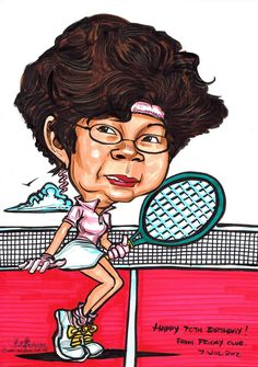 Tennis Player Caricature In Michael Jackson Moonwalk Postu… Flickr - 720x1024 - jpeg